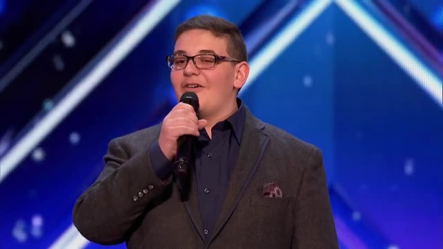 Young Boy Who's Shaking Like A Leaf Performs Act So Moving Forcing Howie To Hit The Golden Buzzer