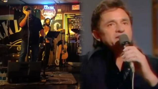 Johnny Cash's grandson opens mouth to sing chilling people moment they hear his voice