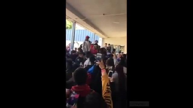 VIDEO: Mob Of Students Assault Police And Teachers During Chaotic Brawl