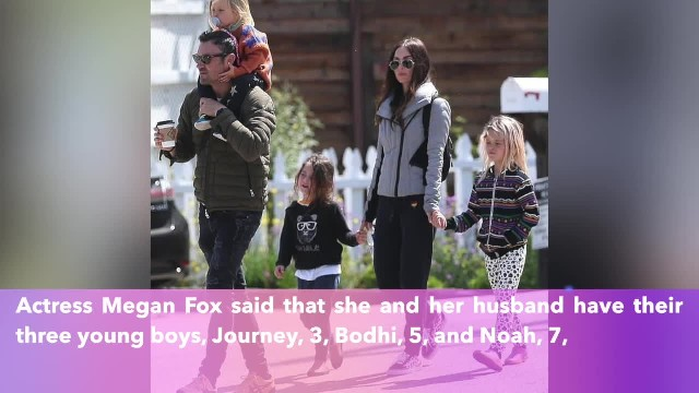 Megan Fox says her children go to 'vegan school,' teaches them plants have 'feelings, thoughts, and