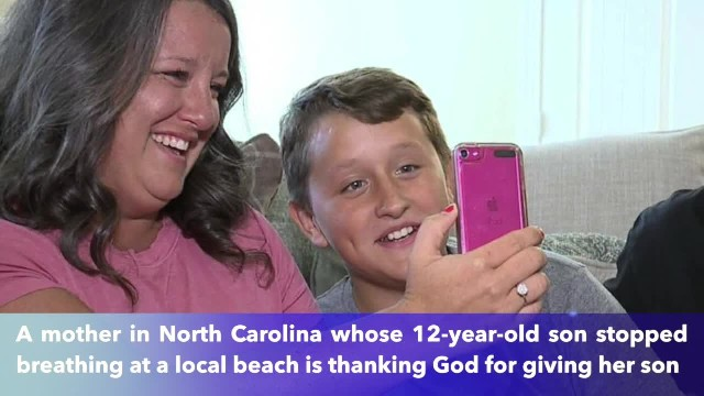 'It was a miracle' as nurses save boy who almost drowned at beach after family prayed