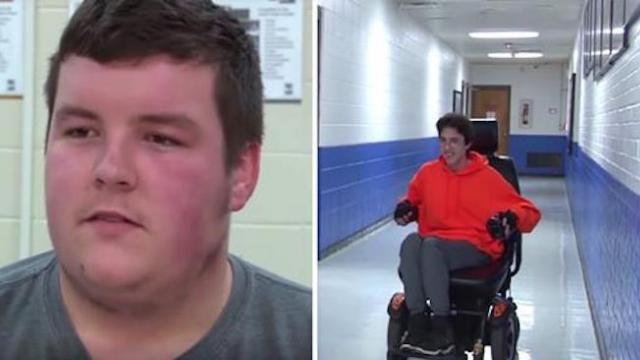 Teen befriends boy in wheelchair but 2 yrs later scheme he'd