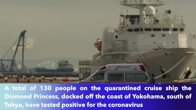 Coronavirus infects 60 more passengers on Diamond Princess cruise ship, bringing total to 130