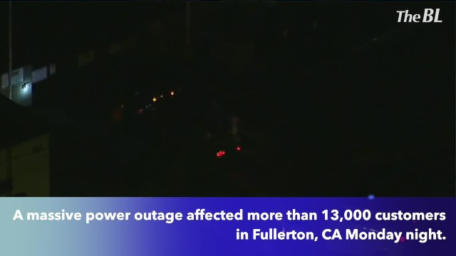 Nearly 13,000 SoCal Edison customers without power in Fullerton