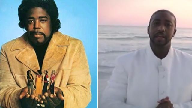Soul legend Barry White's son is all grown up. You won't believe how much he sounds like his dad