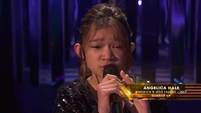 2-time golden buzzer winner Angelica Hale performs 'Impossible'