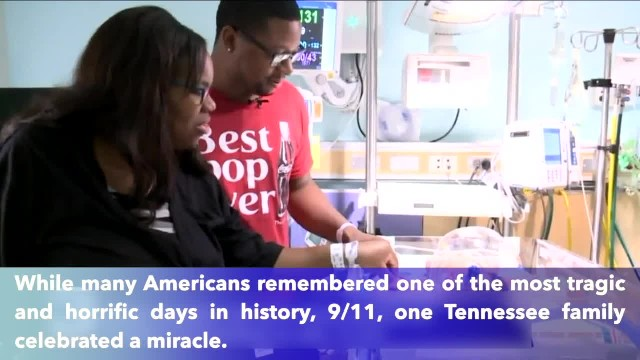 'Rare but very special'. Tennessee baby born on 9-11 at 9.11 p.m. weighing 9 pounds, 11 ounces