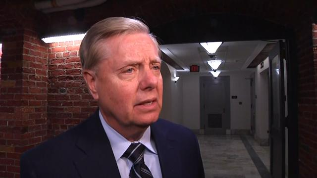 Senator Graham says Pelosi should apologize to Barr