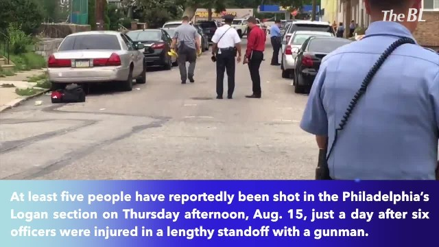 At least five people shot in Philadelphia's Logan section