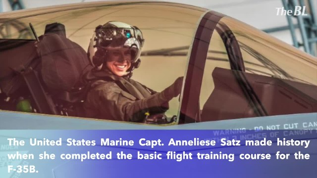 Helicopter pilot becomes the first female Marine to pilot the F-35B combat jet