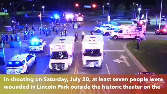 7 wounded in shootout outside Theater on the Lake in Chicago, Illinois