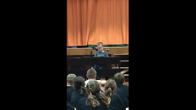 4th Grader Becomes Internet Star With Heartwarming '70s Tribute Song Performance