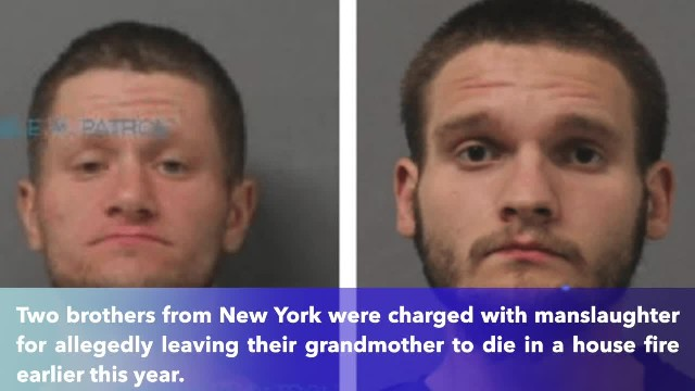 New York brothers allegedly left 82-year-old grandma to die in fire while they saved meth equipment