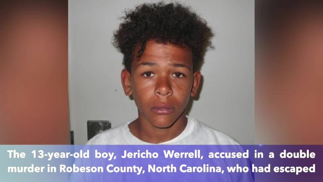 Missing North Carolina 13-year-old double-murder suspect found, back in custody