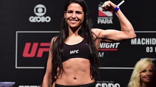Man tries to rob young woman but he's not aware she's a professional UFC fighter