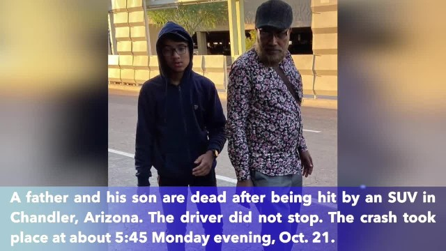 Father, son killed by hit-and-run driver in Chandler