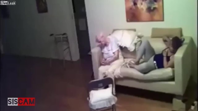 Cruel Caretaker Gets Caught Red-handed Doing This To A Senior Citizen. It Hurts!