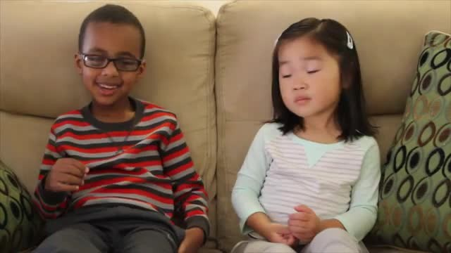 Watch two precious little kids tell the story of Easter and the empty tomb