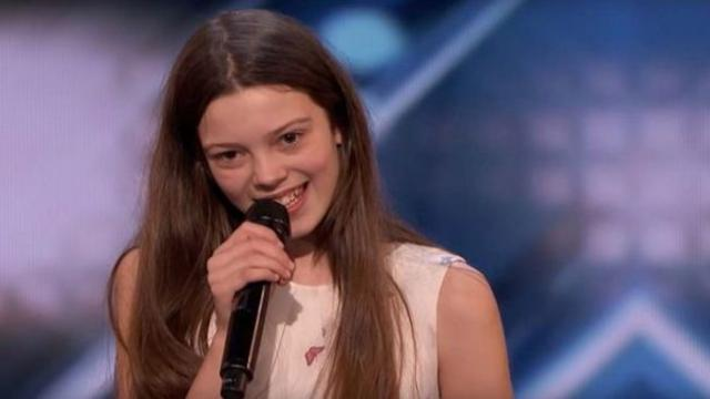 America's Got Talent- The 13-year-old Brit who got the golden buzzer