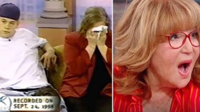 Sally Jessy Raphael sent out-of-control teen to bootcamp. 21 years later, he surprises her on TV