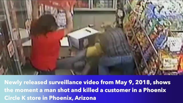 Phoenix, Arizona gas station hostages attack, subdue man who shot customer in the head