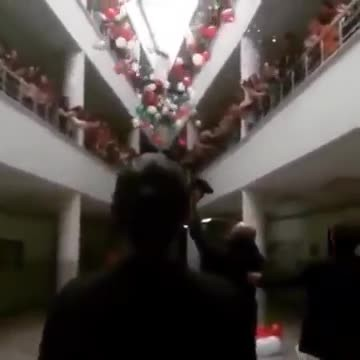 100s of students plan epic surprise for beloved teacher who beat cancer