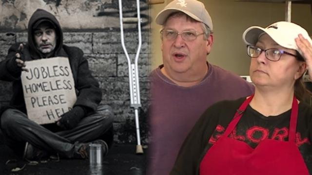 Ex-drug addict opens pizzeria, and employs homeless people to get them off streets