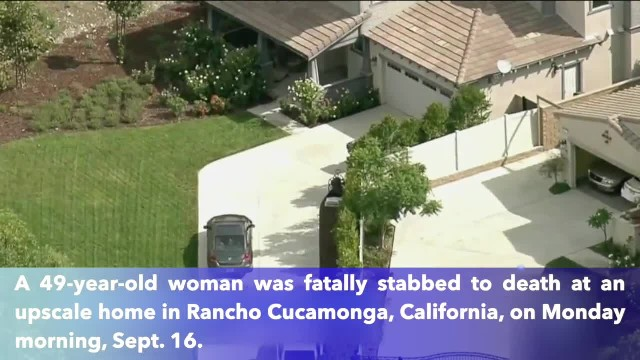49-year-old woman stabbed to death in California, father arrested