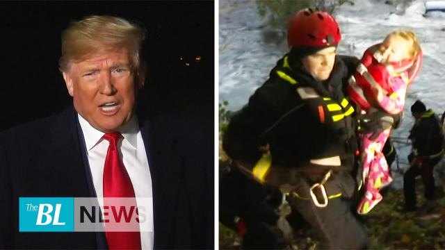 The BL news in 3 - Trump blasts Pelosi & impeachment probe - Water rescues in Central NY State