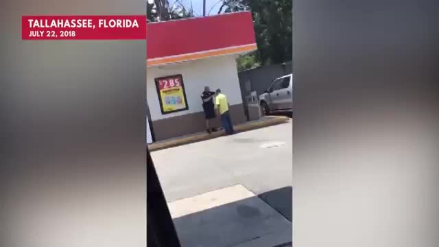 Officer's Caught On Camera Helping Homeless Man Shave For Job Interview, Now Everyone Loves Him