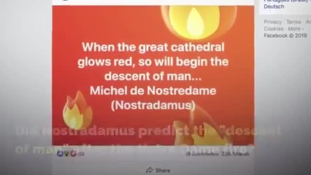 Notre-Dame fire and its supposed prophecy written by 15th-century French astrologer