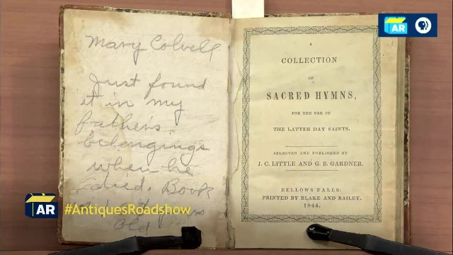 1844 'Bellows Falls' LDS Church Hymnal - Salt Lake City Hour 1 - Preview