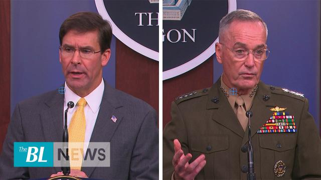 Esper-Dunford-Is the longest War in US history finally coming to a close