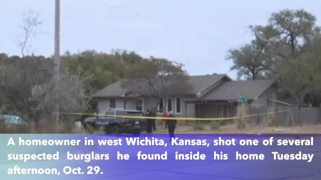 Homeowner shoots burglary suspect in west Wichita, Kansas, police say