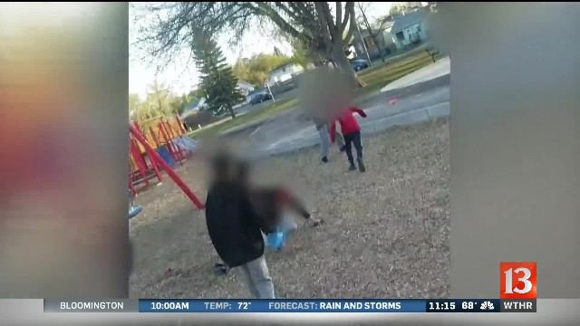 Mom brought her child to the playground. Then the neighborhood kids attacked