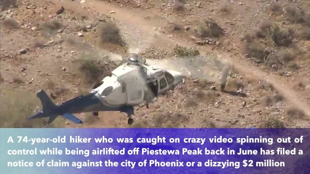 74-year-old hiker sues Phoenix for $2 million after rescue helicopter sends her stretcher spinning