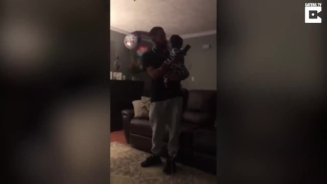 Dad serenades deaf son only to break down sobbing when child flashes him angelic smile