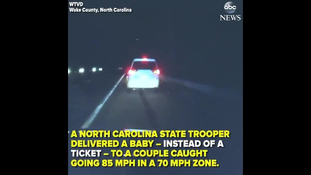 Cop Delivers Baby After Frantic Father-To-Be Speeds Past Him On Highway