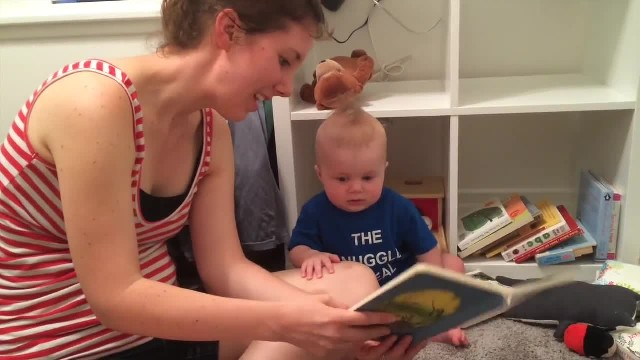 Adorable Baby Loves Story Time, But Throws Huge Tantrum Once The Story Ends