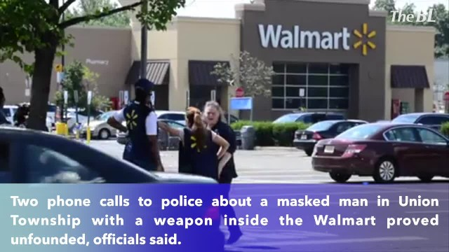 Police say no gunman at New Jersey Walmart after calls led to evacuation