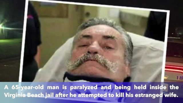 65-year-old Florida man plot who kill estranged wife, ends up paralyzed