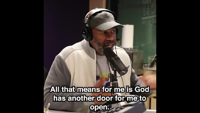 Steve harvey: 'The god I serve didn't bring me this far to leave me'