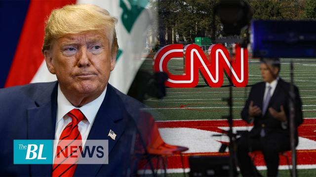 President Trump gives CNN notice of legal action, the tapes are the 'tip of the iceberg'