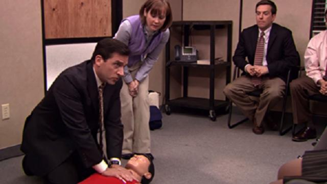 Man saves woman with CPR he learned from watching The Office