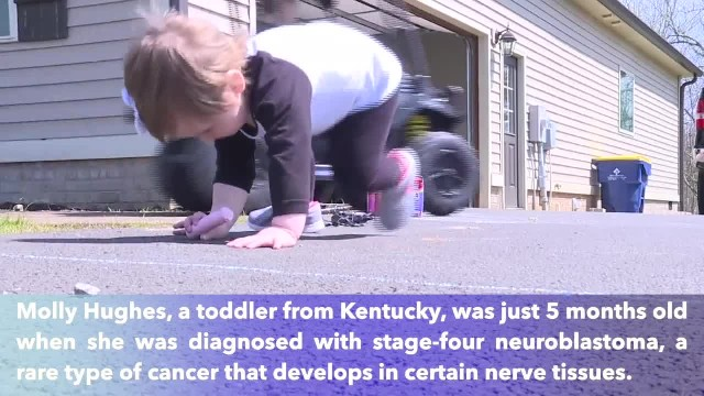 21-month-old Kentucky girl beats stage 4 cancer thanks to the power of prayers