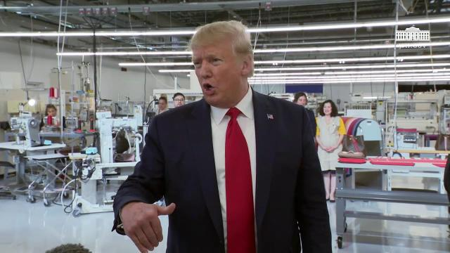President Trump Remarks at Louis Vuitton Tour