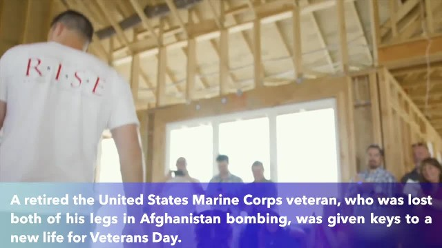 Marine veteran who lost legs in Afghanistan bombing granted specially made smart home to help make l