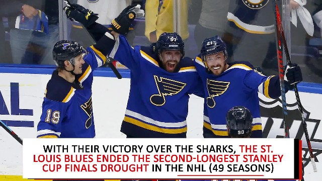 St Louis Blues advance past Sharks for first Stanley Cup Final