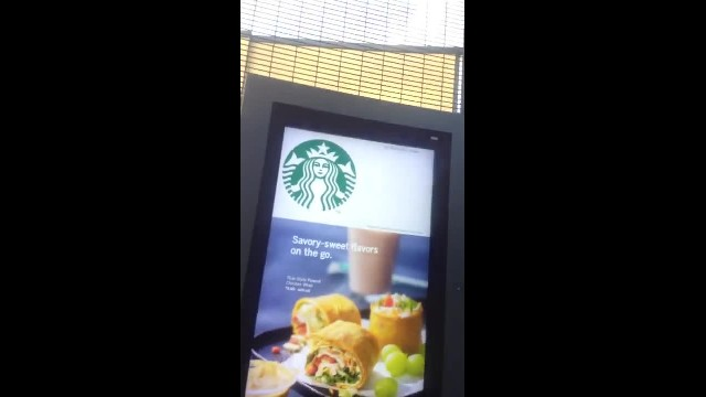 Starbucks video ASL!