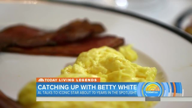Betty White- 'There's So Much To Be Thankful For' - TODAY